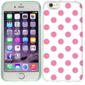 Apple iPhone 6s Plus Pink Polka Dots Case Cover