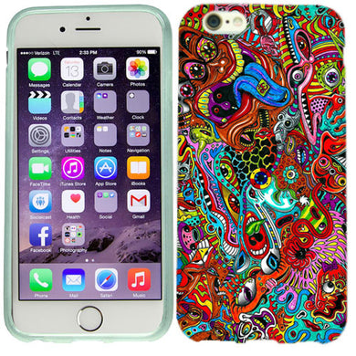 Apple iPhone 6s Plus Paisley Case Cover