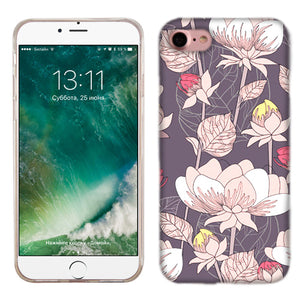 Apple iPhone 7 Pastel Flowers Phone Cases