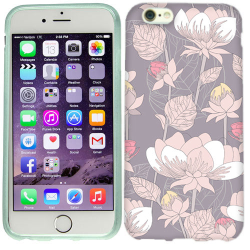Apple iPhone 6s Plus Pastel Flowers Case Cover