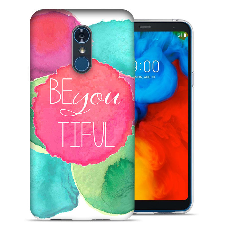 LG Stylo 4 Be You Beautiful Design TPU Gel Phone Case Cover