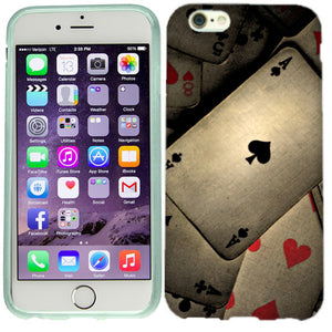 Apple iPhone 6s Plus Poker Cards Case Cover