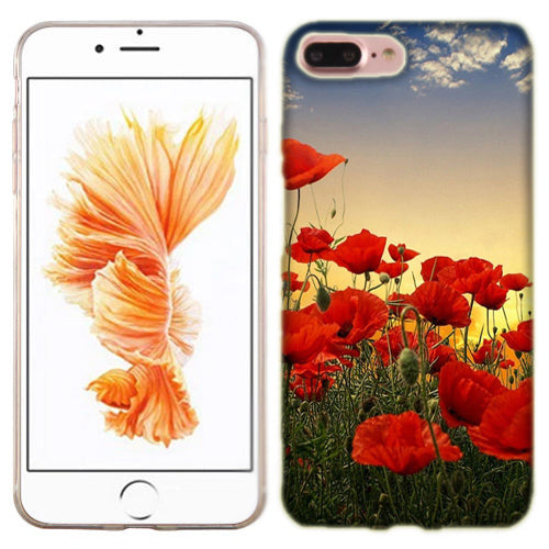 Apple iPhone 7 PLUS Poppy Flowers Phone Cases
