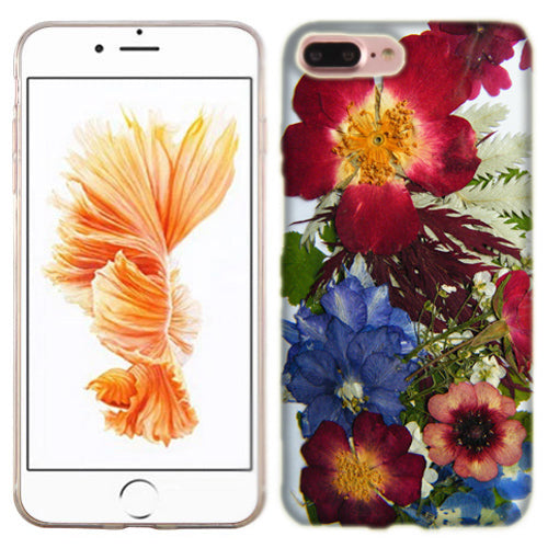 Apple iPhone 7 PLUS Pressed Blossoms Phone Cases