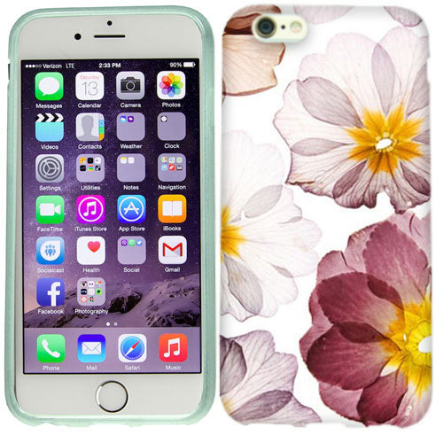 Apple iPhone 6s Pressed Flowers Case Cover