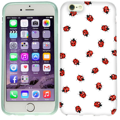 Apple iPhone 6s Plus Pretty Ladybugs Case Cover