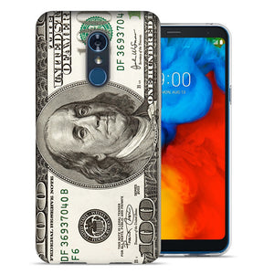 LG Stylo 4 Hundred Dollar Bill Design TPU Gel Phone Case Cover