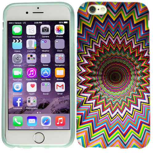 Apple iPhone 6s Plus Rolling Chevron Case Cover