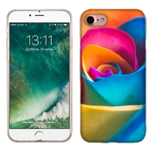 Apple iPhone 7 Rainbow Rose Phone Cases