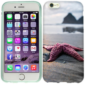 Apple iPhone 6s Red Starfish Case Cover
