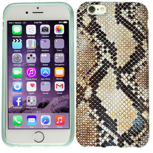 Apple iPhone 6s Snake Skin Case Cover