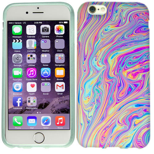 Apple iPhone 6s Swirl Paint Case Cover