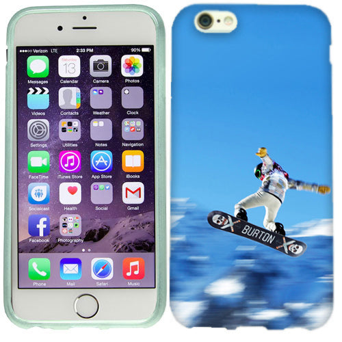 Apple iPhone 6s Plus Snow Boarding Case Cover