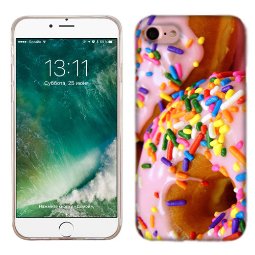 Apple iPhone 7 Sprinkle Donut Phone Cases