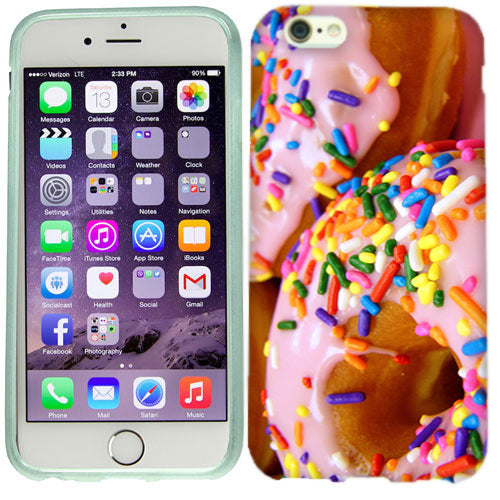 Apple iPhone 6s Plus Sprinkle Donut Case Cover