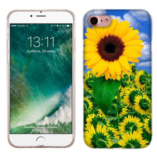 Apple iPhone 7 Sunflower Phone Cases