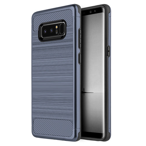 Samsung Galaxy Note 8 Blue Techsilk Grip Phone Cases