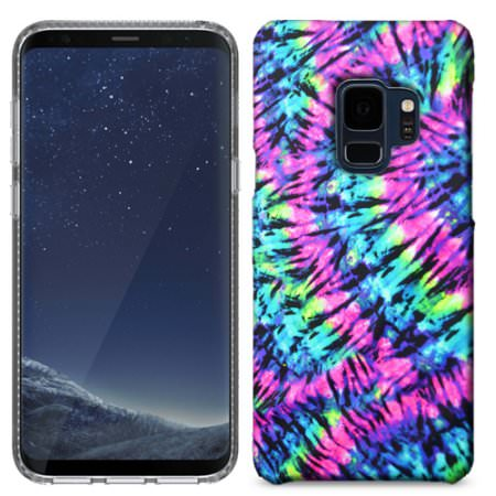 Samsung Galaxy S9 Plus Tie Dye Phone Cases