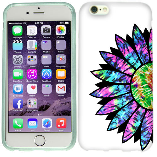 Apple iPhone 6s Plus Tie Dye Flower Case Cover