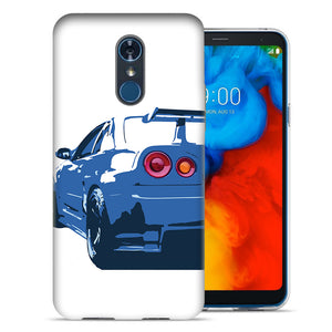 LG Stylo 4 Nissan Skyline GTR R-34 Design TPU Gel Phone Case Cover