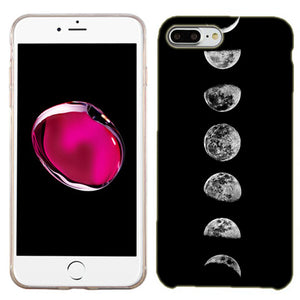 Apple iPhone 8 Transition Moon Phone Cases