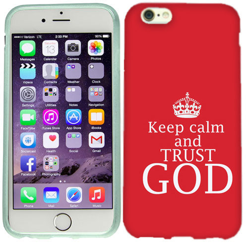 Apple iPhone 6s Plus Trust God Case Cover