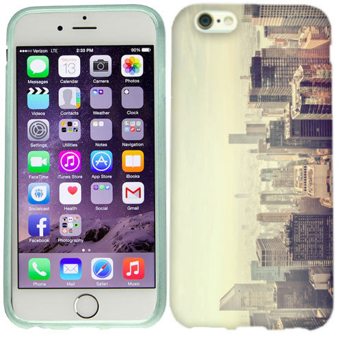 Apple iPhone 6s Plus Vintage City Case Cover