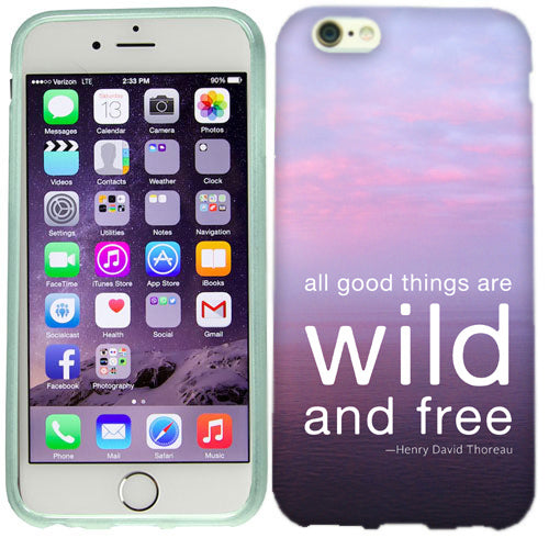 Apple iPhone 6s Plus Wild And Free Case Cover