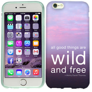 Apple iPhone 6s Wild And Free Case Cover