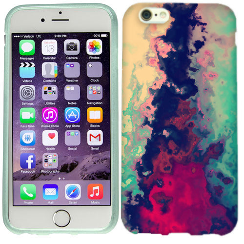 Apple iPhone 6s Plus Water Paint Case Cover