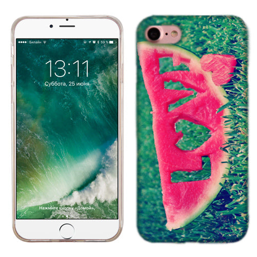 Apple iPhone 7 Watermelon Love Phone Cases
