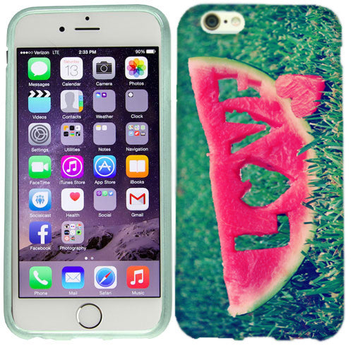 Apple iPhone 6s Plus Watermelon Love Case Cover