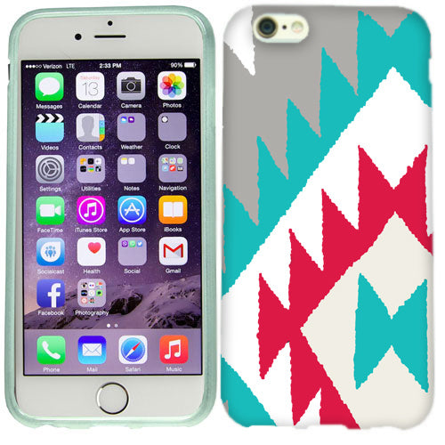 Apple iPhone 6s Plus White Navajo Case Cover