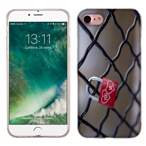 Apple iPhone 7 You And Me Locked Phone Cases