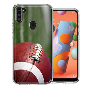 Samsung A11 Football Design Double Layer Phone Case Cover