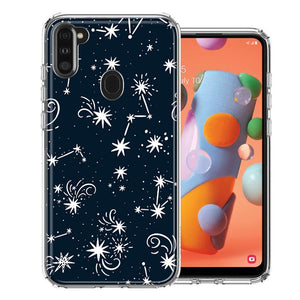Samsung A11 Stargazing Design Double Layer Phone Case Cover