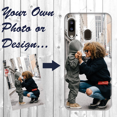 Personalized Samsung Galaxy A20 Case Custom Photo Image Phone Customize Your Own Phone Cover