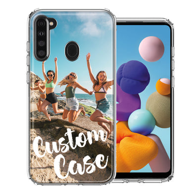 Personalized Samsung Galaxy A21 Case Custom Photo Image Phone Customize Your Own Phone Cover