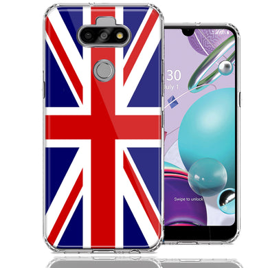 LG Aristo 5/K31/Fortune 3 UK England British Flag Design Double Layer Phone Case Cover