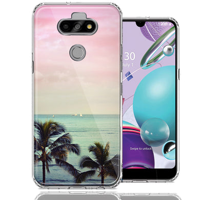 LG Aristo 5/K31/Fortune 3 Vacation Dreaming Design Double Layer Phone Case Cover