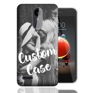 Personalized LG Aristo 2/3/Zone 4/Fortune 2/Tribute Dynasty/Empire/K8 2018 Case Custom Photo Image Phone Cover