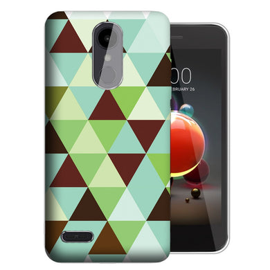 MUNDAZE LG Stylo 5 Mint Chocolate Checkered Phone Case Cover
