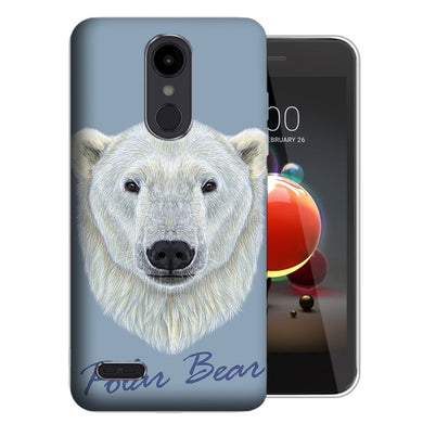 MUNDAZE LG Stylo 5 Polar Bear Design Phone Case Cover