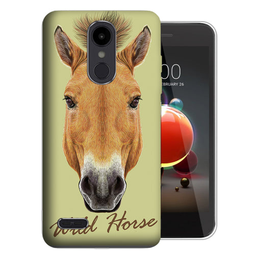 Wild Horse Aristo 2 Case - LG Aristo 2 Plus X210 / Zone 4 / Fortune 2 - UV Printed Design Phone Cover