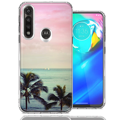 Motorola Moto G Power Vacation Dreaming Design Double Layer Phone Case Cover