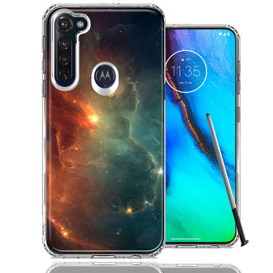 Motorola Moto G stylus Nebula Design Double Layer Phone Case Cover