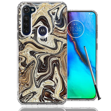 Motorola Moto G stylus Snake Abstract Design Double Layer Phone Case Cover