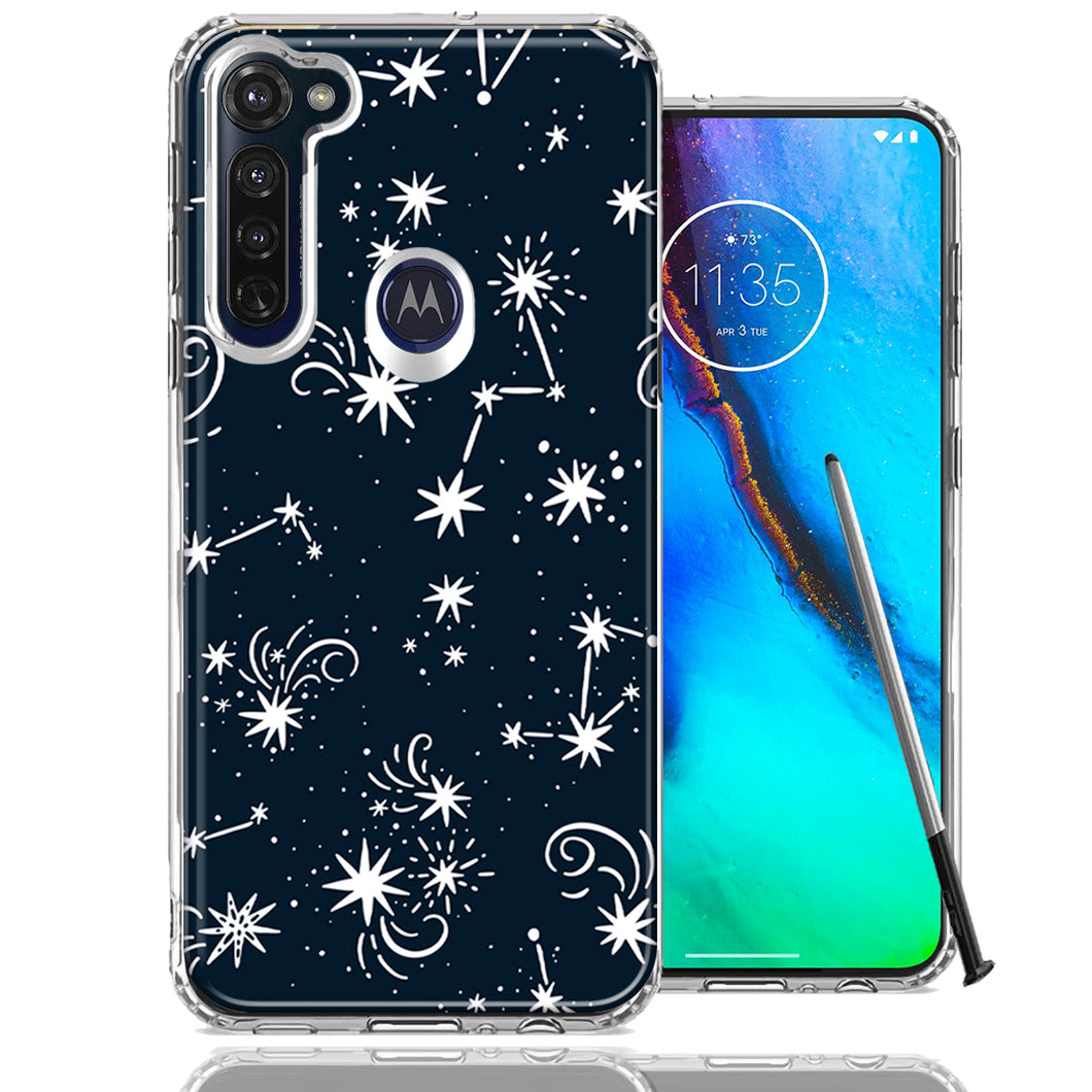 Motorola Moto G stylus Stargazing Design Double Layer Phone Case Cover
