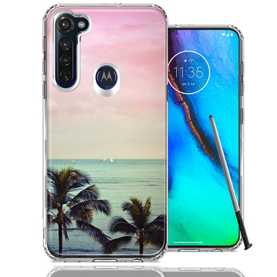 Motorola Moto G stylus Vacation Dreaming Design Double Layer Phone Case Cover