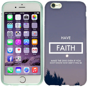 Apple iPhone 6s Plus Have Faith Case Cover